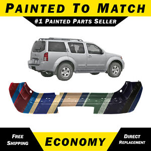 Details about NEW Painted to Match Rear Bumper Cover for 2005 2006 2007  Nissan Pathfinder SUV