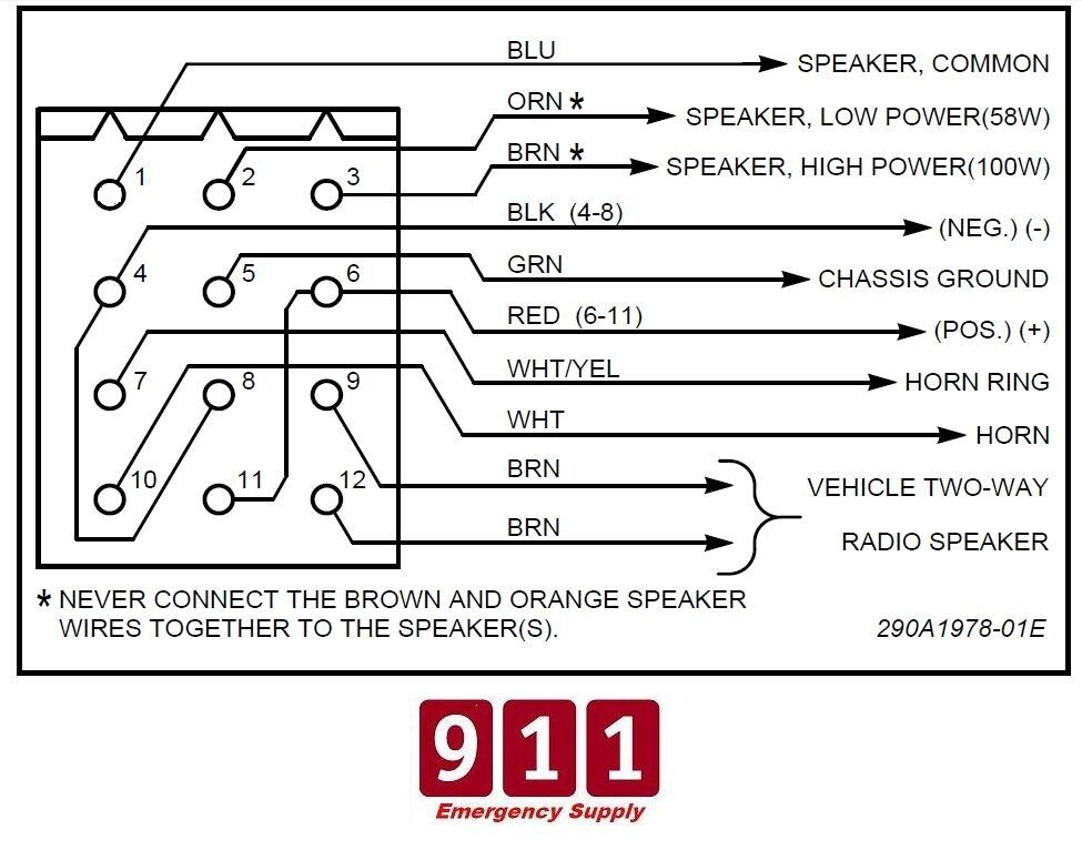 Federal Pa300 Wiring Diagram - Wiring Diagrams List on