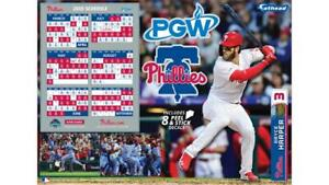 Phillies Home Opener 2020.Details About Phillies Bryce Harper 2020 Fathead Schedule Not A Magnet 9 29 19 Sga