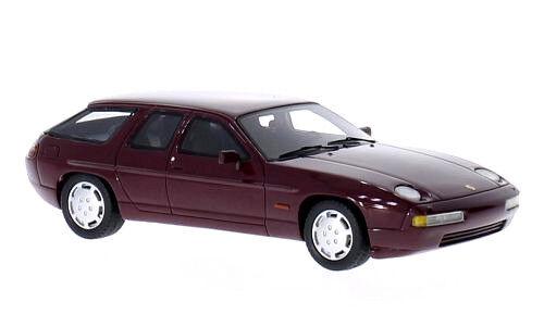 Merveilleux MODELCAR PORSCHE 928 H50 Concept 1987-darkrouge métallique - 1 43