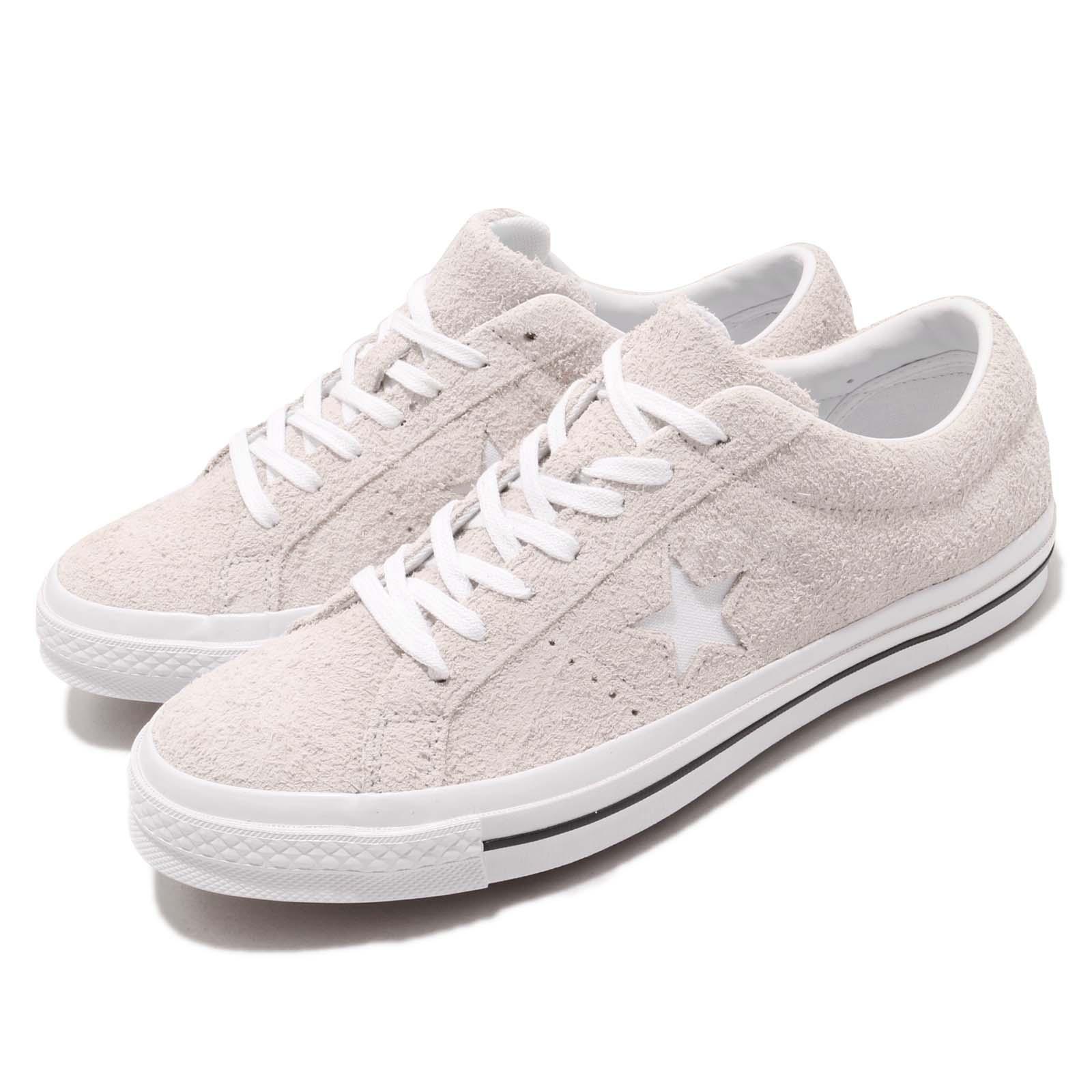 Converse One Star OX grigio bianca Suede Men donna Casual scarpe scarpe da ginnastica 161577C
