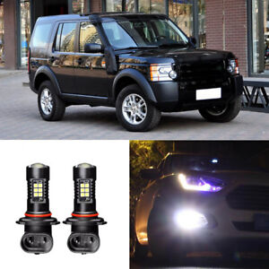 2x-Canbus-H11-3030-21SMD-LED-DRL-Daytime-Running-Fog-Light-Bulbs-For-Discovery-3