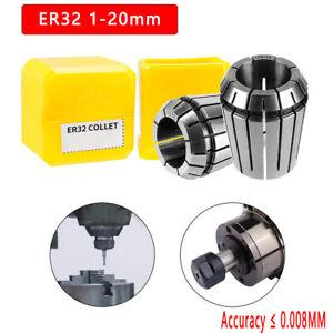 Er32 1-20mm spannzangen para industria puede utilizarse fresadoras alta precisión