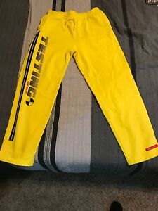 Details about AWGE ASAP/A$AP Rocky Testing Merch XL Yellow Brand New 100%  Authentic