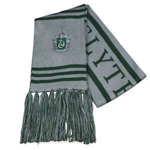 Harry-Potter-Slytherin-Thicken-Wool-Knit-Scarf-Wrap-Soft-Warm-Costume-Cosplay
