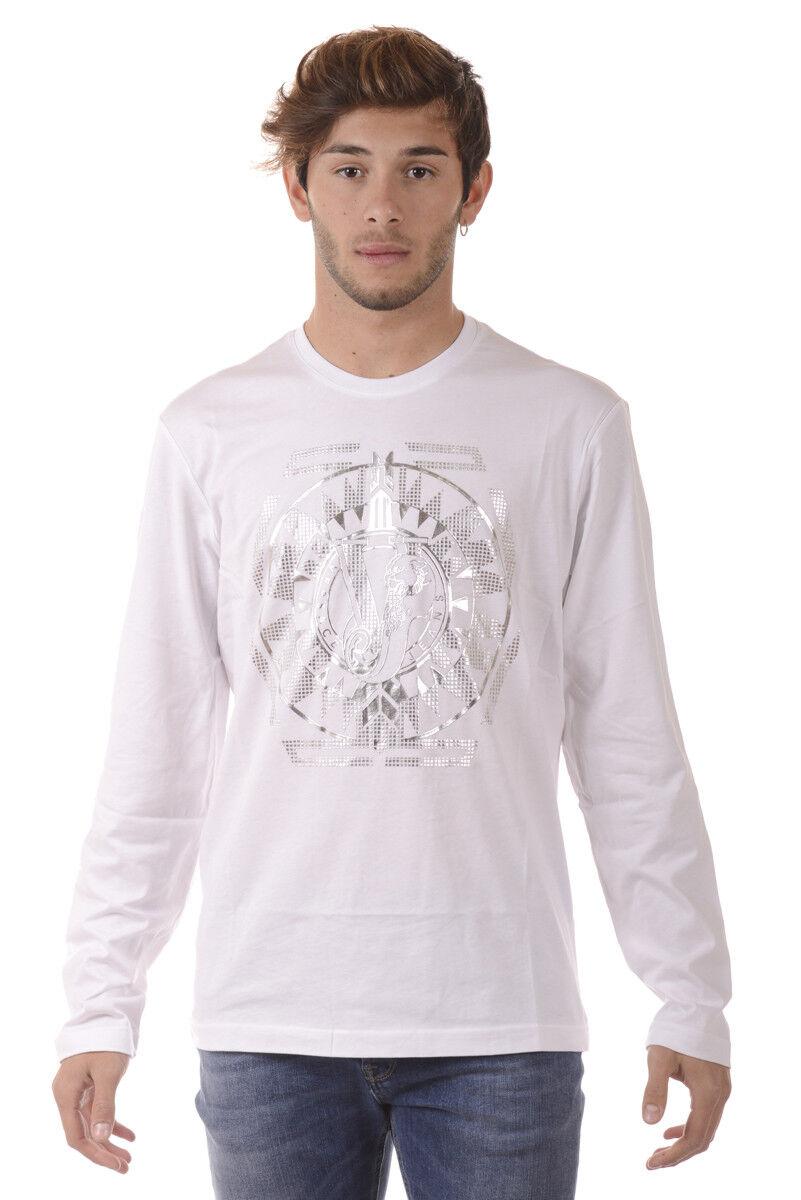 T shirt Maglietta Versace Jeans Sweatshirt Cotone  Herren Bianco B3GQA794 3