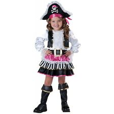 item 4 Toddler Pirate Costume Girls Pirate Halloween Fancy Dress -Toddler Pirate Costume Girls Pirate Halloween Fancy Dress  sc 1 st  eBay : pirate costume toddler  - Germanpascual.Com