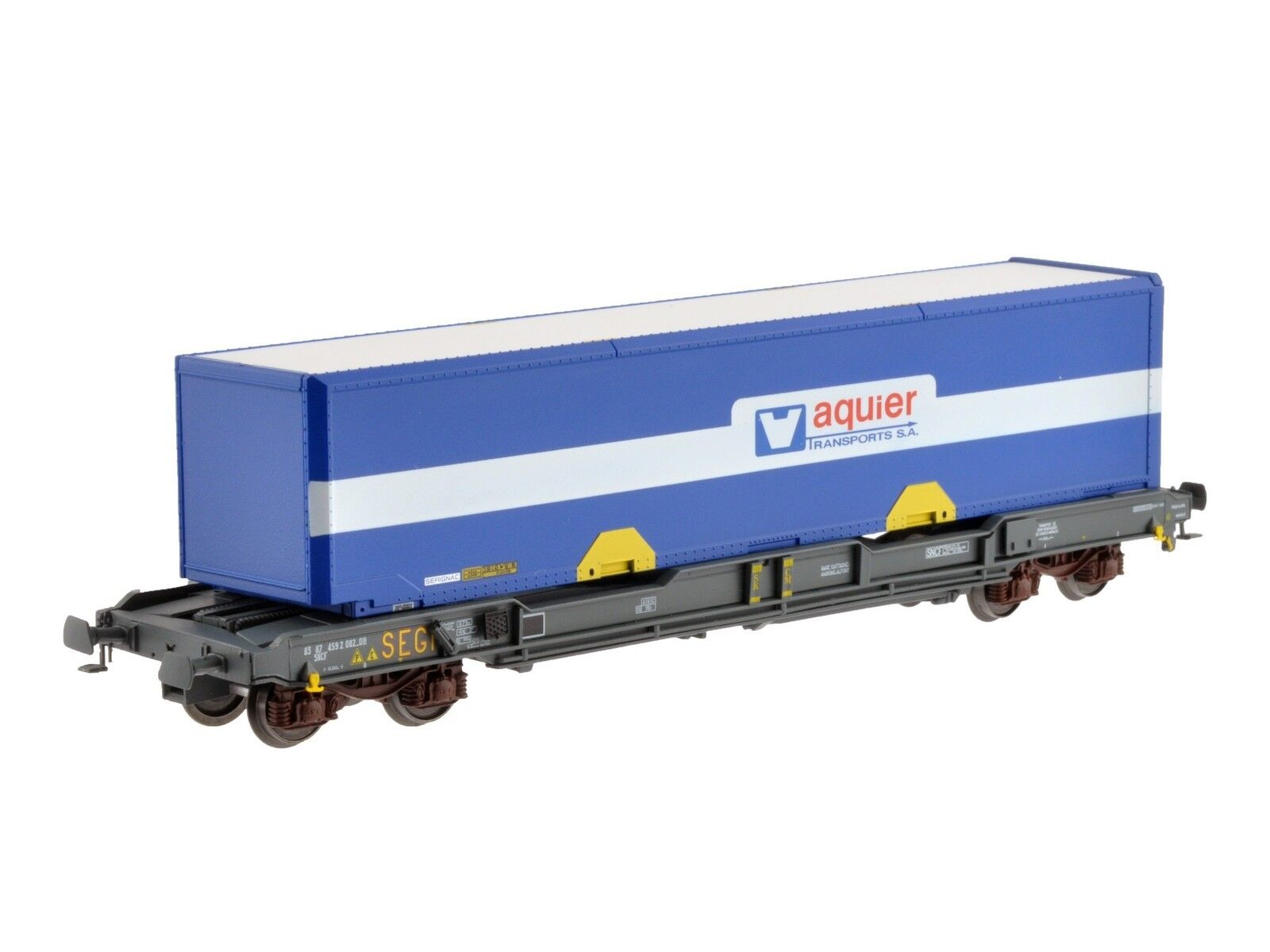 LS Models 30140 SNCF 4 ACH containertragwg KM GRIGIO SEGI V acquier BL 40' ep5 NUOVO