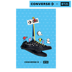 BTS BT21 Official Authentic CONVERSE Chuck Taylor All star Low Cut Limited Ver