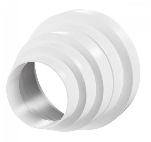 PVC Universal Reduzierstück konzentrisch für Lüftungsrohr Rundrohr 10310