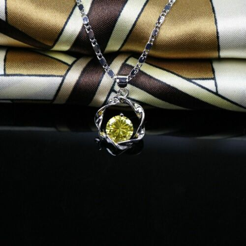 Rose Type Exquisite Chain Silver Choker Pendant/&Necklace Sweet Lady Necklace