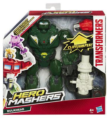 TRANSFORMERS HERO MASHERS BULKHEAD FIGURE HASBRO A8396 BRAND NEW HERO MASHERS!