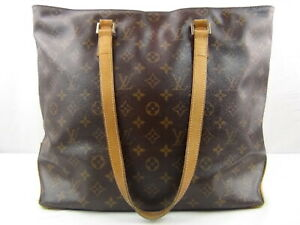 Us Seller Authentic Louis Vuitton Monogram Cabas Mezzo Tote Bag Purse Good Lv Ebay