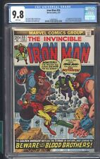 Iron Man #55 CGC 9.8 White Pages 1ST App Of Thanos Mentor Drax Starfox Kronos