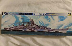 Aoshima-1-700-German-Battleship-TIRPITZ-plastic-model-kit-from-japan