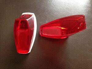Superbe-Cabochon-de-feu-rouge-joint-motobecane-AV-46-49-N40-N50-CADY