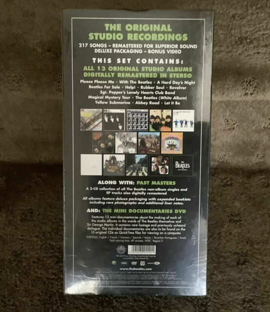 The Beatles: Stereo Box Set (CD, Sep-2009) 100% Authentic holiday sale