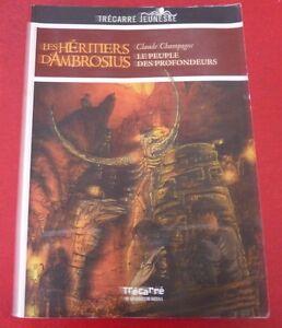 Soft-Cover-French-Book-Les-Heritiers-D-039-Ambrosius-Le-Peuple-des-Profondeurs