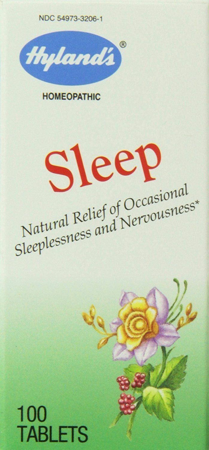 Hyland's Sleep, 100 Tablets  Homeopathic, Sleeplessness 1