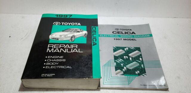 1997 Toyota Celica Repair Manual  U0026 Electronic Wiring