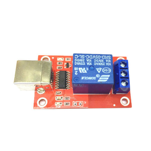 HID Free Drive USB Relay Module 5V 1 Channel Relay Board