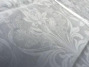 Jugendstil-Damast-Kopfkissen-Blueten-Motiv-um-1900-Antique-Damast-Pillowcase