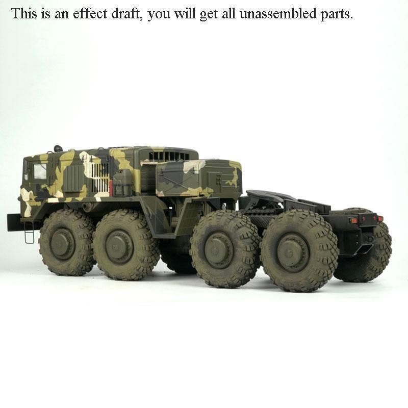 1 12 Cruz RC BC8A mamut 88 Off Road Coche Modelo Kit de camión militar con motor
