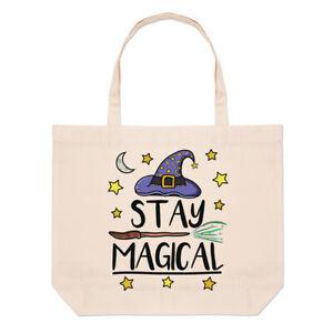 AgréAble Stay Magique Grand Sac Fourre-tout Plage Blague Drôle Magical Spell Sorcier