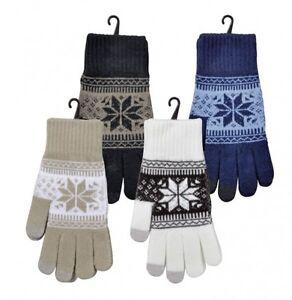 Ordentlich Smartphone-handschuhe Handy Touchscreen Gloves Winterhandschuhe Norweger Design Und Verdauung Hilft