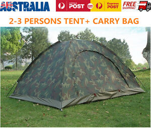 Portable-Outdoor-Camping-2-Person-Family-Tent-Waterproof-Camouflage-Hiking-Tents