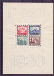 Dt-Reich-1930-IPOSTA-Block-1-ungebraucht-Michel-550-00-337