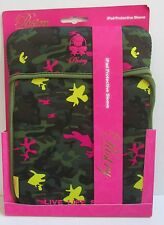 PASTRY by Vanessa and Angela Simmons  iPad Protective Sleeve Camouflage Pink New