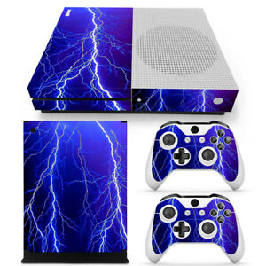 For Xbox One Slim Console&pad Set Skin Design Sticker Screen Protector Lightning Avoir Un Style National Unique
