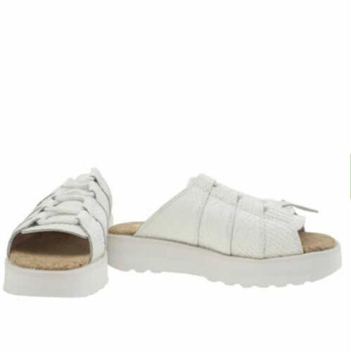 Kickers femme enfants blanc Kick Lite Mule UK 7 cuir