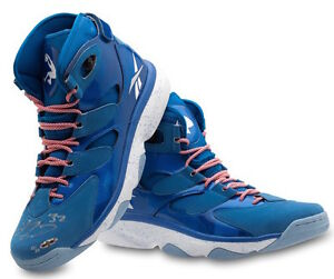 d0ad9caa04c1 SHAQUILLE O NEAL  SHAQ  Signed SHAQ ATTAQ IV Blue Shoes UDA LE 10