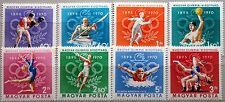 HUNGARY UNGARN 1970 2616-23 A 2036-43 IOC Olympics 1972 München Sport MNH