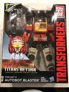 Transformers G1 Classics Titans Retour Blaster Headmaster Misb