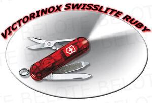 Victorinox Swiss Army Swisslite Ruby Pocket Knife 54033