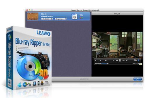 Leawo Blu-ray Converter software for MAC lifetime updates BD to AVI MKV MP4