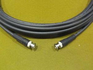 New 75/' Belden 1505A,RG59 HDTV SDI//HD Digital Video BNC Male//Male Cable