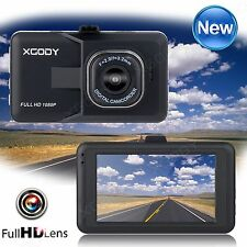 XGODY 3'' HD 1080P Car Vehicle Dashboard DVR Video Camera Recorder Dash Cam HDMI