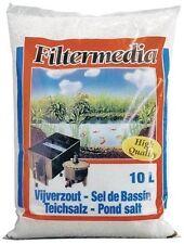 Teichsalz 10 Liter Salz Mineralien gegen Stress, Parasiten, Verletzungen bei Koi