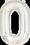 40-034-numero-gigante-foil-aria-elio-Glitz-grandi-PALLONCINI-Festa-Di-Compleanno-Matrimonio miniatura 41