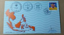 ASEAN Community Thailand Joint FDC First Day Cover Thaipex 2015 autographed