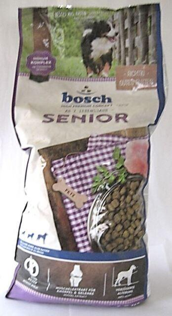 12,5kg Hundefutter Bosch Senior Sonderposten, Verpackung beschädigt