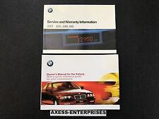 2001 BMW 3-Series E46 323i 330i 330xi Owners Driver Manual Service Book 021517C
