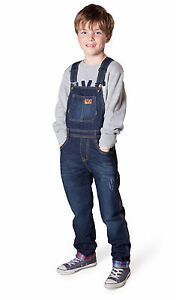 f6bdd01cb5094 Clothing West End Blues Big Boys or Big Girls Soft Washed Denim Bib Overall  Set