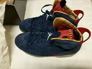 Azul 12 Retro Rojo 401 392789 Blanco Air Oro Doernbecher Nike Jordan marino Tamaño 6 qnptO4H