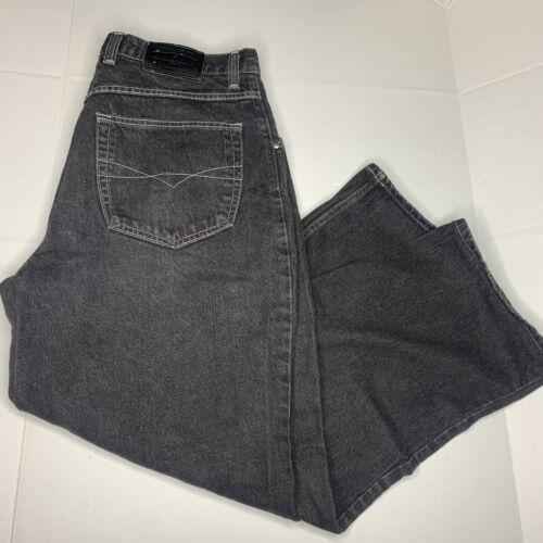 vintage anchor blue jeans baggy size 40x30