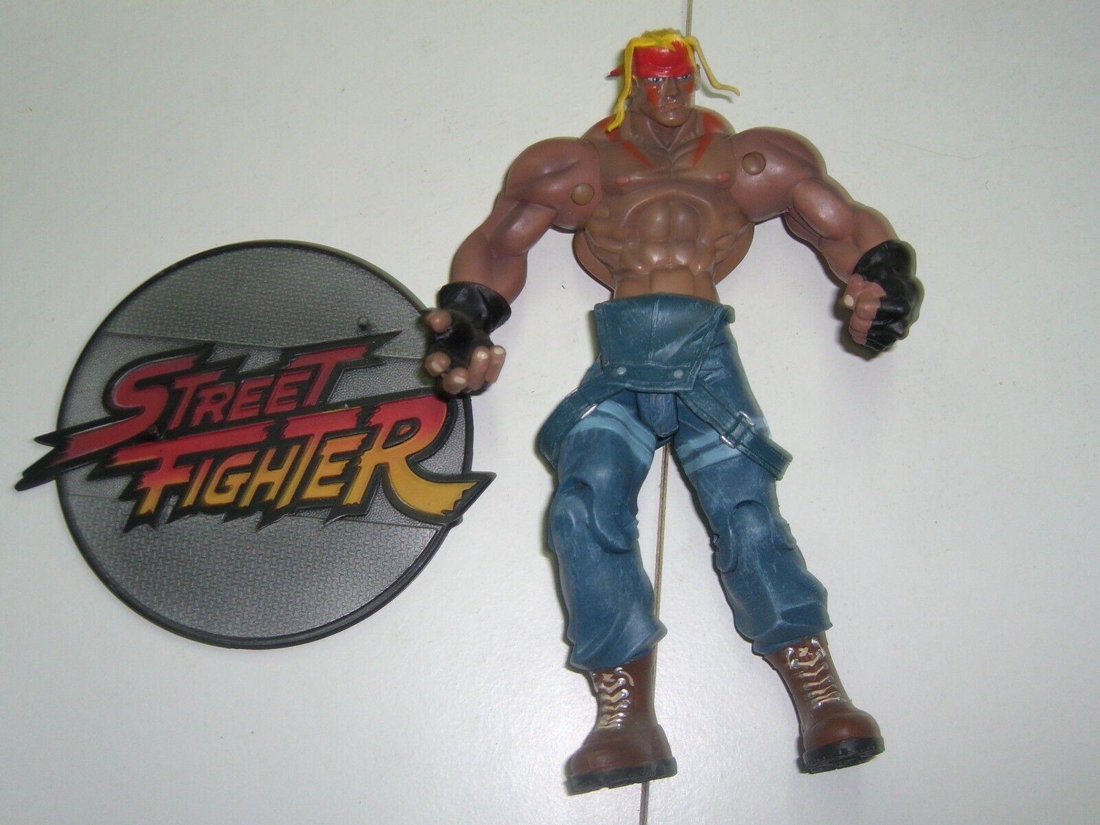 Capcom Street Fighter 3 ALEX action figure player 2 Blau colour Resaurus MINT